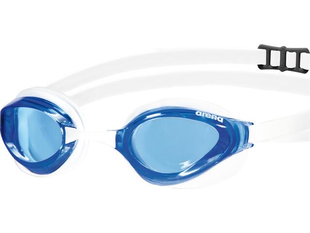 arena Python Svømmebriller, clear blue-white-white